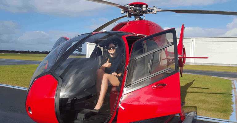 Helicopter charter flights