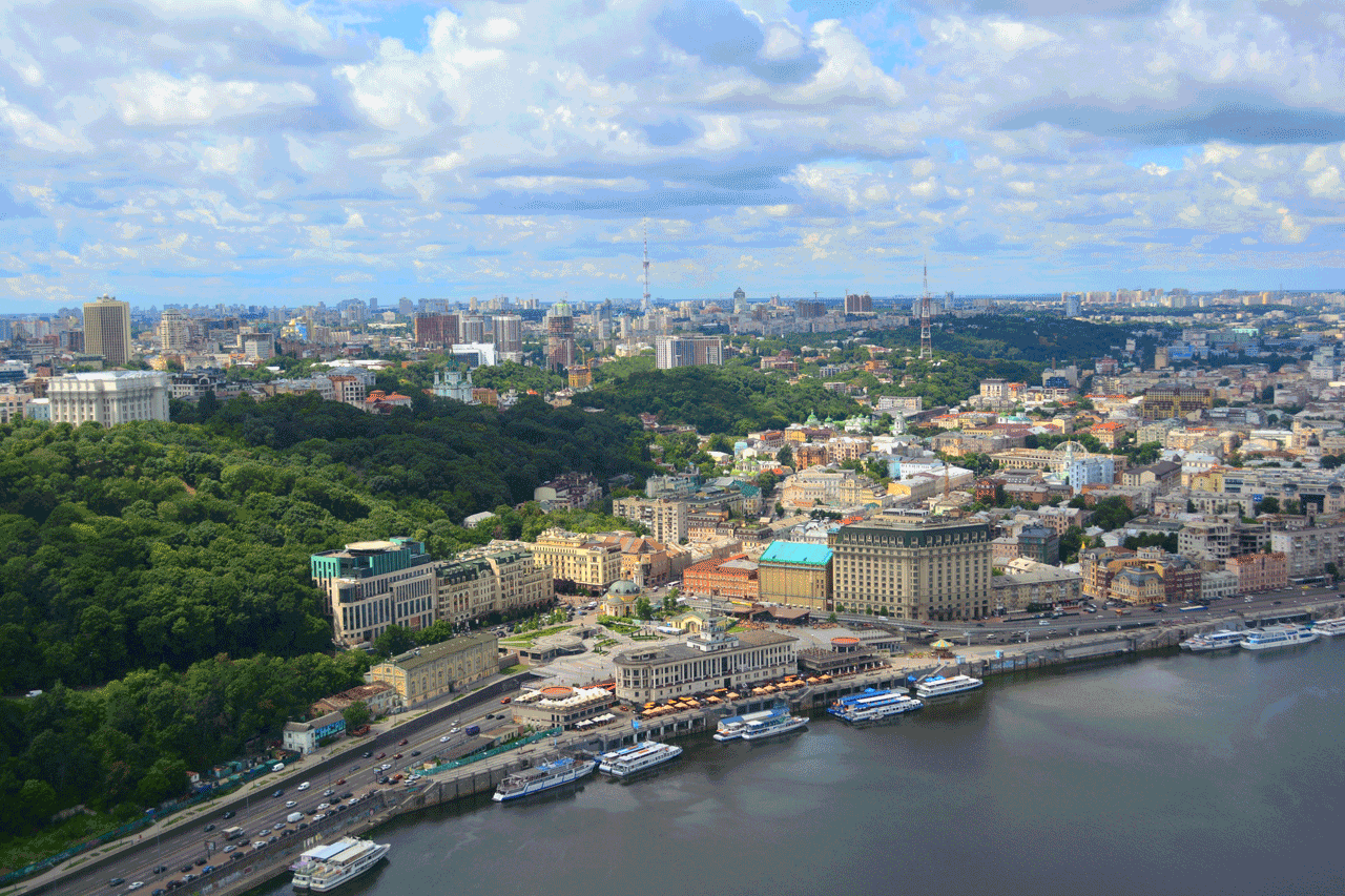 Kiev helicopter tour – 12 minutes