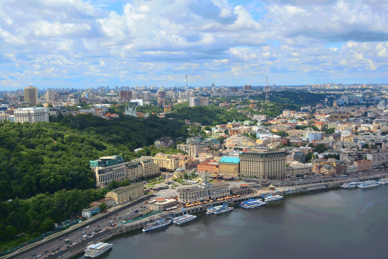 Оглядовий політ над Києвом -12 хвилин