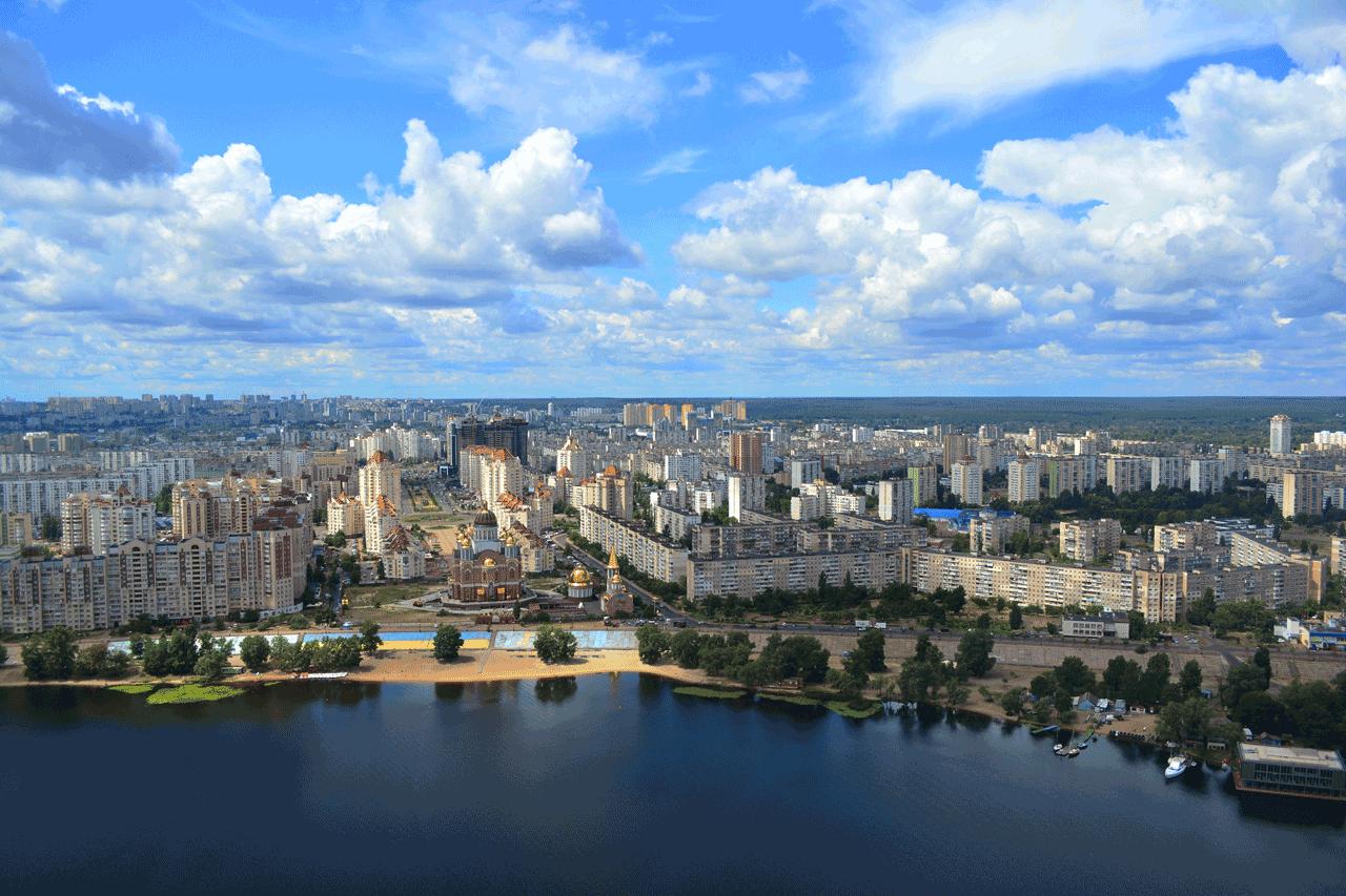 Оглядовий політ над Києвом – 18 хвилин