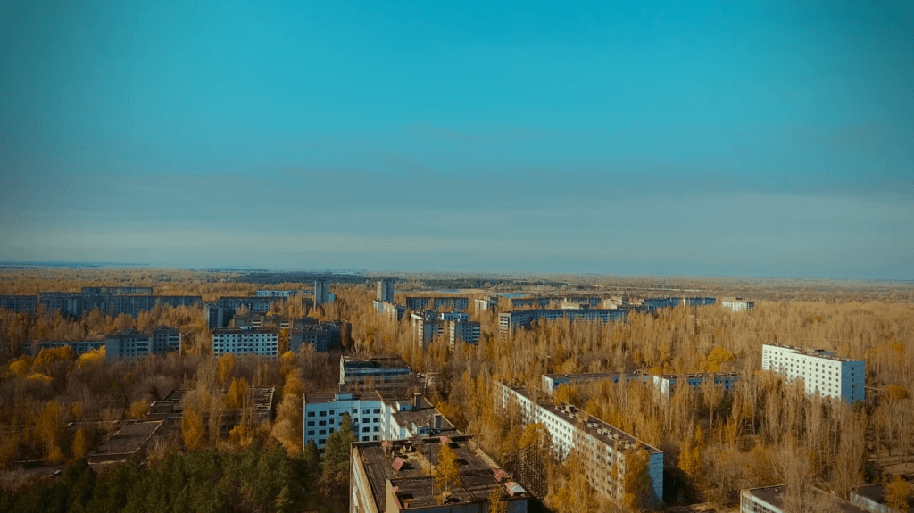 Pripyat and Chernobyl helicopter flight – 110 minutes