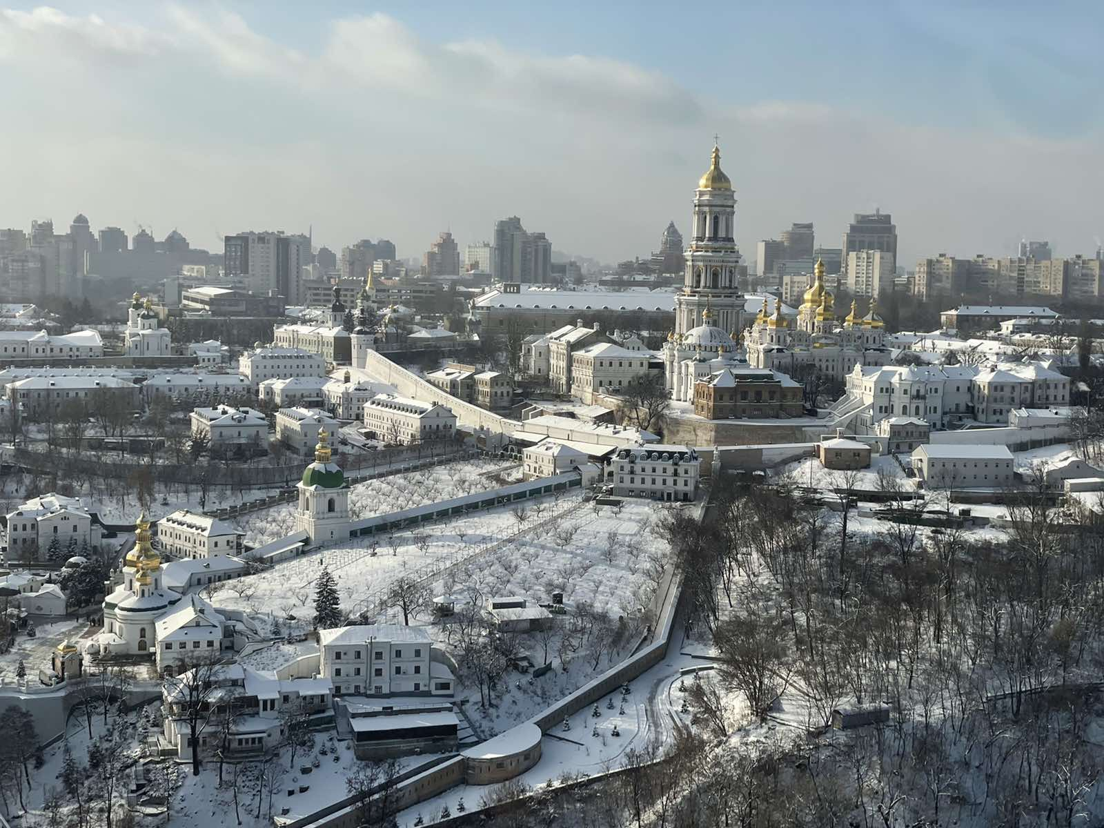 KIEV HELICOPTER TOUR – 24 MINUTES